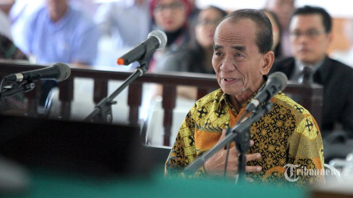Mantan Gubernur Riau Annas Maamun. TRIBUN JABAR/GANI KURNIAWAN