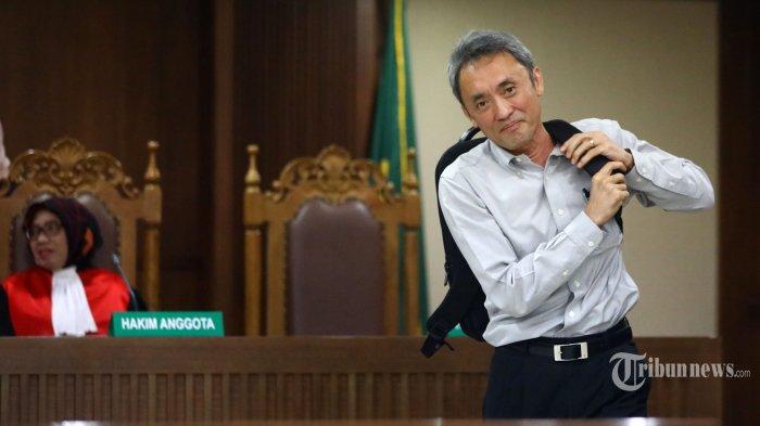 Eddy Sindoro Mengaku Tidak Tahu Saat Jaksa Putar Rekaman Percakapan Pengurusan Perkara