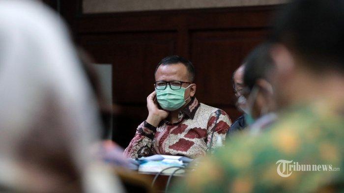 Sidang Kasus Ekspor Benur, Edhy Bantah Menhan Prabowo Jadi Pengendali PT ACK