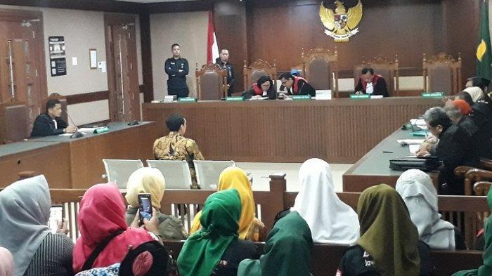 Sidang lanjutan kasus Lutfi Alfiandi di Pengadilan Negeri Jakarta Pusat, pada Rabu (15/1/2020).