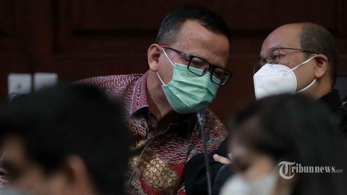 Sespri Edhy Prabowo Transfer Uang Rp 1 Miliar Pakai Rekening Karyawan Toko Durian