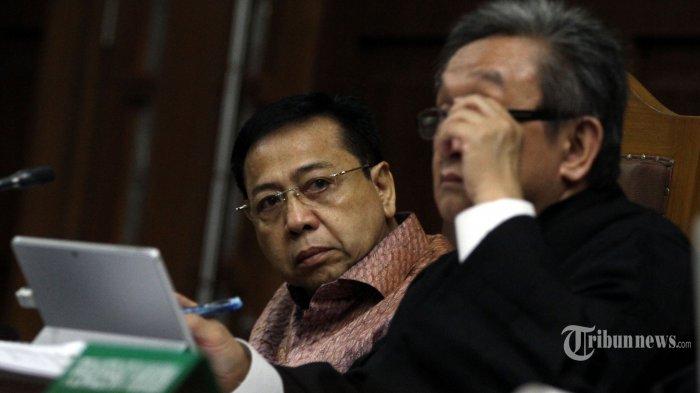 Jadi Justice Collaborator Setya Novanto Minta Keluarganya tak Diganggu