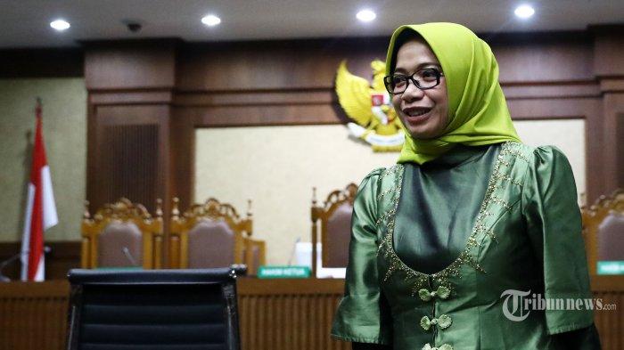 KPK Setor Uang Pengganti Eni Saragih Rp500 Juta ke Kas Negara
