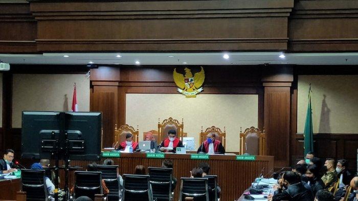 pengadilan tipikor jakarta kembali menggelar sidang perkara dugaan suap izin ekspor benih lobster (benur) untuk terdakwa mantan menteri kelautan dan perikanan edhy prabowo, rabu (2/6/2021).