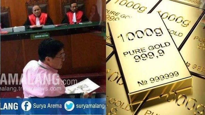 Sidang penipuan pembelian emas pengusaha Superkaya Surabaya oleh Oknum PT Antam di PN Surabaya