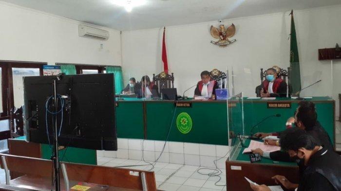 Sidang Perdana Kasus Sate Sianida di PN Bantul, NA Didakwa Pasal Berlapis
