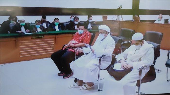 Jaksa Serang Balik Habib Rizieq: Pledoi Keluh Kesah hingga Mudah Berkata Kasar