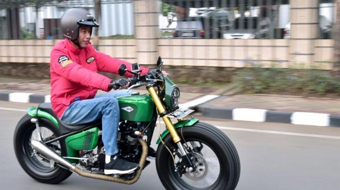 Alasan Polri Tak Tilang Presiden Jokowi Meski Tak Nyalakan Lampu Motor Saat Siang Hari