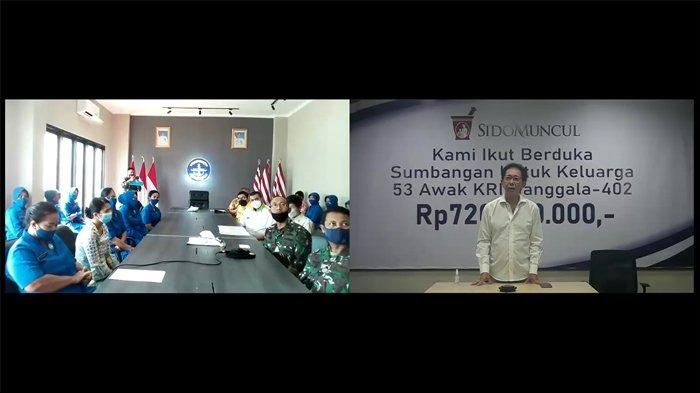 Sido Muncul - Penyerahan Bantuan kepada ahli waris ABK Nanggala 402