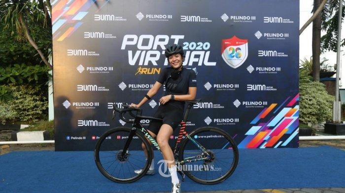 Sigi Wimala Nilai Pelindo III Kreatif Manfaatkan Teknologi Dalam Port Virtual Run and Ride 2020