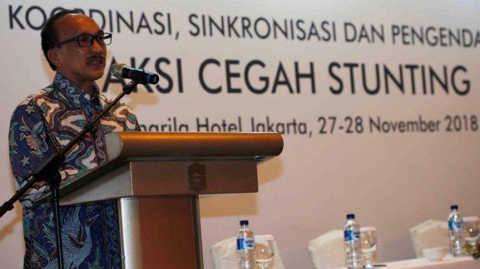 Sigit Priohutomo: Koordinasi, Sinkronisasi dan Pengendalian Aksi Cegah Stunting Sangat Dibutuhkan