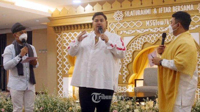 Ivan Gunawan hadiri acara bukber Ramadan Penuh Berkah Silahturahmi dan Iftar MS Glow JKT.