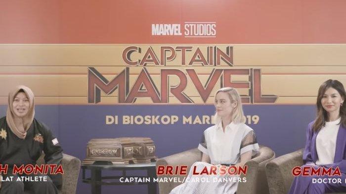 Dua Pemain Captain Marvel Terpesona dengan Pencak Silat Indonesia