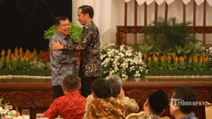 Puan Maharani Hadiri Perpisahan Kabinet Kerja Jokowi - JK