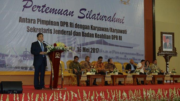 Jelang Ramadhan, Pimpinan DPR RI Gelar Silaturahim dengan Seluruh Karyawan DPR RI