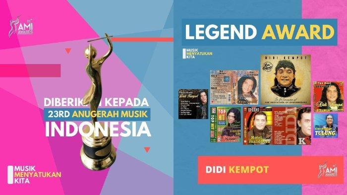 Daftar Lengkap Pemenang AMI Awards 2020: Noah Raih Grup Pop Terbaik, Didi Kempot Dapat Legend Award