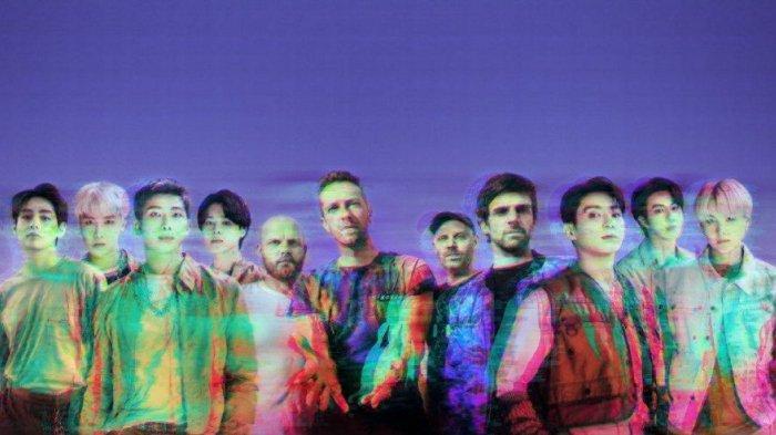Baru Dirilis, Lagu Kolaborasi Coldplay dan BTS ''My Universe'' Tempati Posisi 1 di iTunes