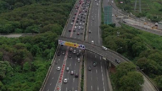 Jasa Marga Lanjutkan Rekayasa Lalu Lintas di Simpang Susun Kembangan Tol Jakarta-Tangerang