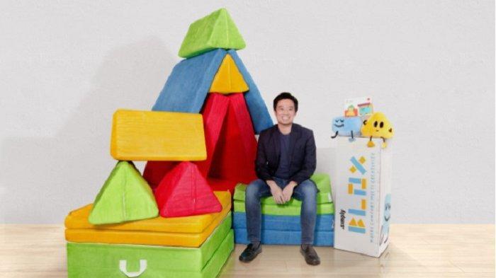 Asah Kreativitas Anak dengan Simply Blox-Play Sofa, Influencer Agatha Suci Terbantu sebagai Orangtua