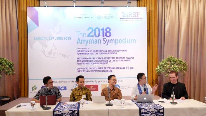 Pemerhati Politik Hingga Peneliti Hadir pada acara Tahunan Arryman Symposium ke-5