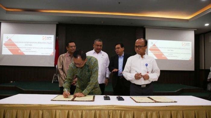 Kemendes Teken MoU dengan APP untuk Akselerasi Pembangunan Desa