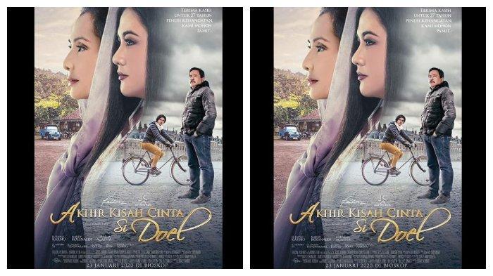 Sinopsis Film Akhir Kisah Cinta Si Doel Tayang di Bioskop Hari Ini, Kamis 23 Januari 2020.