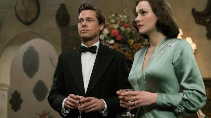 Brad Pitt dan Marion Cotillard (Imdb.com)