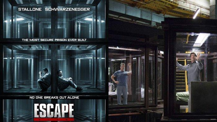 Sinopsis Film Escape Plan, Aksi Arnold Schwarzenegger dan Sylvester Stallone Kabur dari Penjara