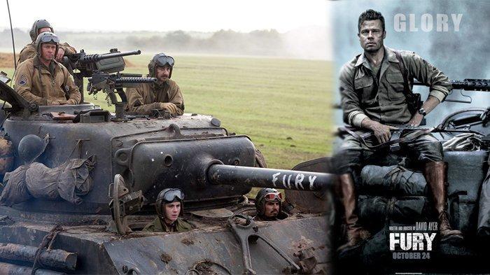 Sinopsis Fury, Perjuangan Brad Pitt dan Pasukannya Melawan Pasukan Nazi Tayang Malam Ini di Trans TV