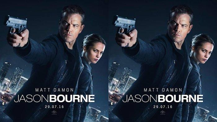 Poster Film Jason Bourne