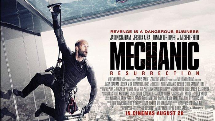 Sinopsis Film Mechanic Resurrection Aksi Jason Statham Tayang Malam Ini di Bioskop Trans TV
