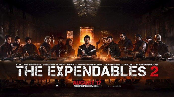 Jadwal Acara TV Hari Ini, Selasa 3 Agustus 2021: Film The Expendables 2 di Trans TV