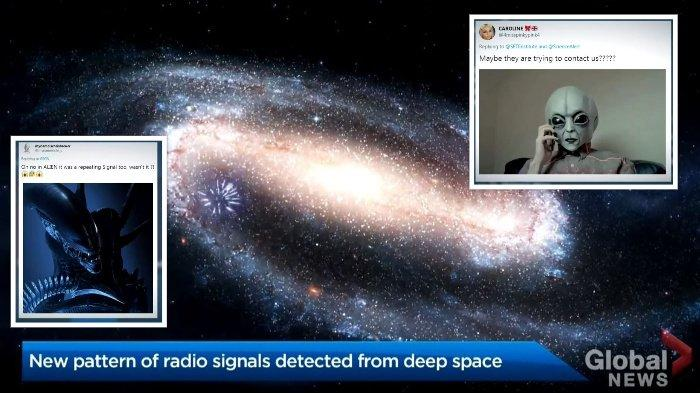 Sinyal Misterius Luar Angkasa yang Berulang Tiap 16 Hari Dicurigai Dikirim oleh Alien, Ini Kata Ahli