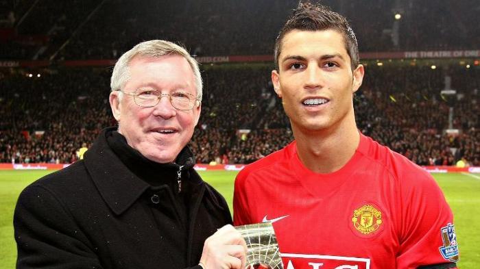 Sir Alex Ferguson dan Cristiano Ronaldo