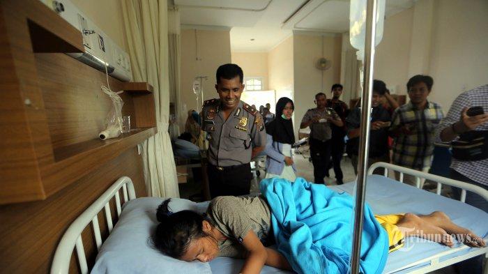 Sebanyak 41 Siswa yang Keracunan Masih Dirawat di RS Sufina Azis
