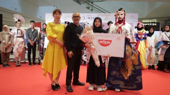 "Siswa SMK NU Banat Kudus Raih 4 Juara di Grand Prix Sakura Collection ""Asia Students Awards 2020"""