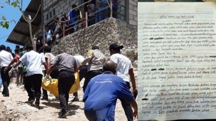 Tak Bisa Bunuh Ayahnya, Siswa SMP di Kupang Bunuh Diri, Sempat Tulis Surat Wasiat