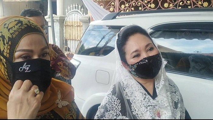 Camelia Malik, Titiek Soeharto hingga Ibunda Tania Nadira Hadiri Pernikahan Putri Habib Rizieq