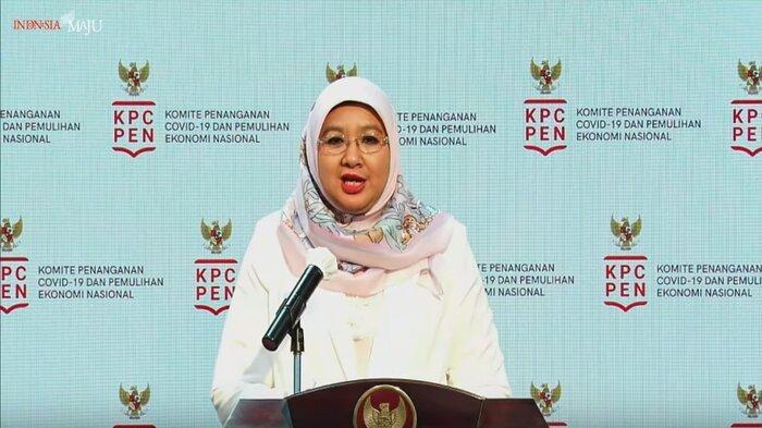 Juru bicara vaksinasi Covid-19 dari Kemenkes, Siti Nadia Tarmizi