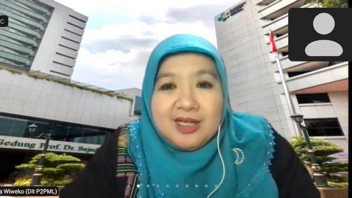 Juru Bicara Kementerian Kesehatan dr Siti Nadia Tarmizi dalam konferensi pers virtual Kemenkes, Rabu (12/5/2021