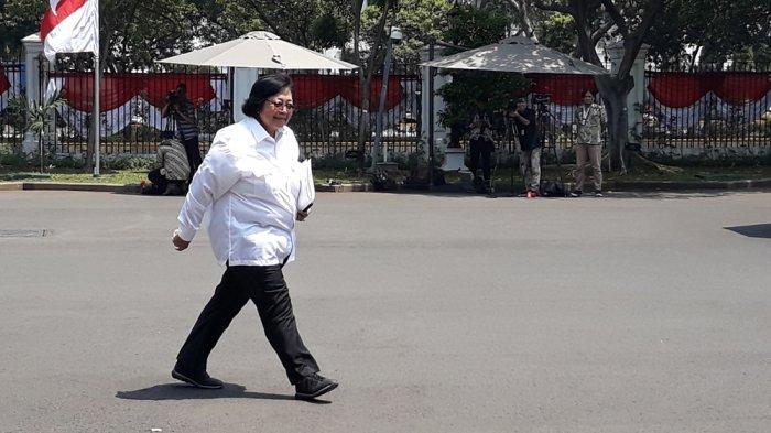 Siti Nurbaya dipertahankan Presiden Jokowi kembali menjasi Menteri Lingkungan Hidup dan Kehutanan periode 2019-2024