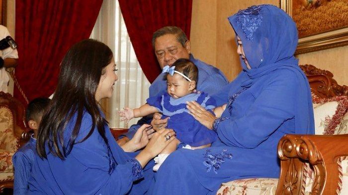 Menantu SBY Bagikan Foto Kenangan Sungkeman dengan Ani Yudhoyono, Begini Ungkapan Aliya Rajasa