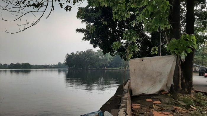 Begini Suasana Ngabuburit di Situ Cikaret Cibinong Bogor