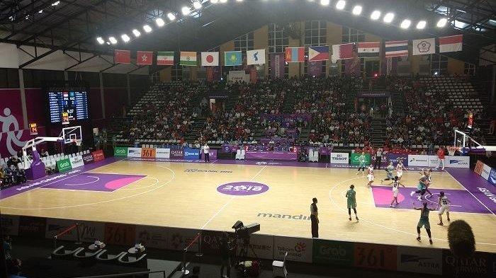 Dukung Tim Indonesia, Penonton Sesaki Basket Hall Stadion Gelora Bung Karno