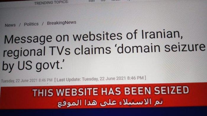 AS Menyita 36 Situs Berita Terkait Palestina dan Iran dengan Dalih Disinformasi