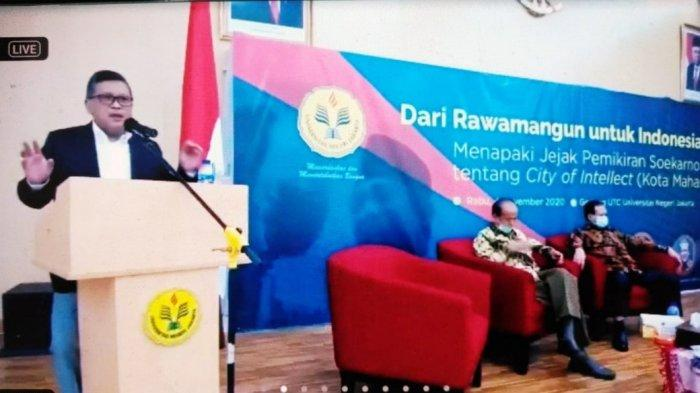 Hasto: Bung Karno Canangkan Kampus UNJ City of Intellect Didasari Spirit Nation & Character Building