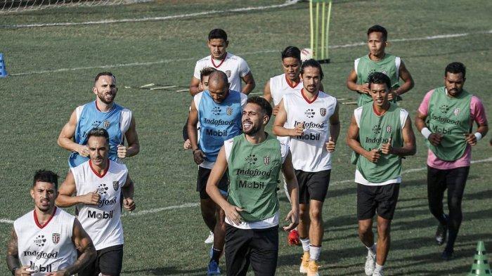 Skuad Bali United jalani latihan bersama