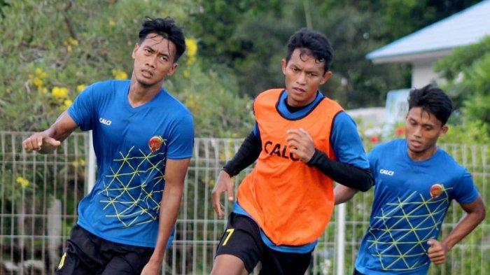 Skuad Sriwijaya FC Lakukan Latihan Bersama