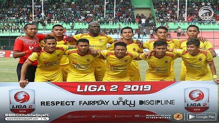 Susunan Pemain Perserang vs Sriwijaya FC, Sore Ini Pukul 15.30 WIB