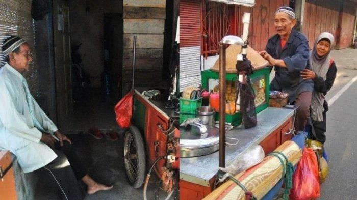 Kisah Kakek Boncengkan Nenek Jual Bakso Keliling di Solo, demi Rp 50 Ribu Kadang Sampai Belasan KM